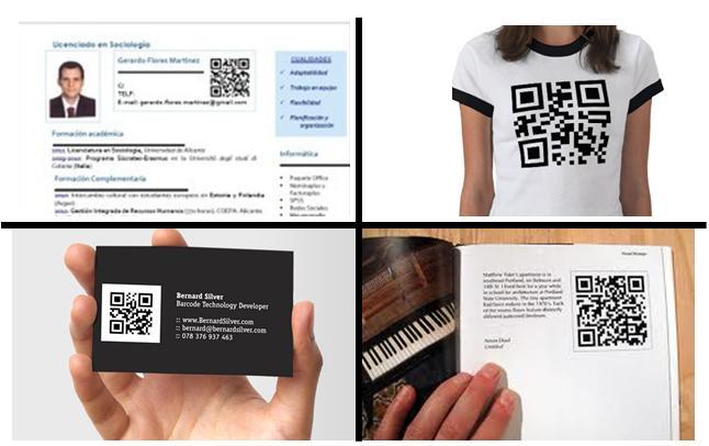 ejemplos personal branding QR
