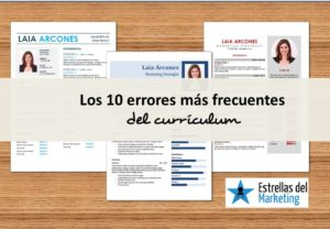 errores curriculum